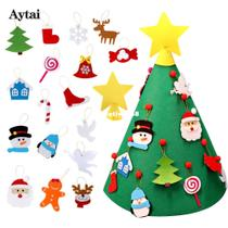 Toddler Christmas Tree Kids DIY Felt Ornaments christm