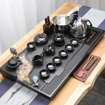 The whole set of Wujinshi tea plate kung fu tea set group home simple living room fully automatic tea sea atomization flow tea