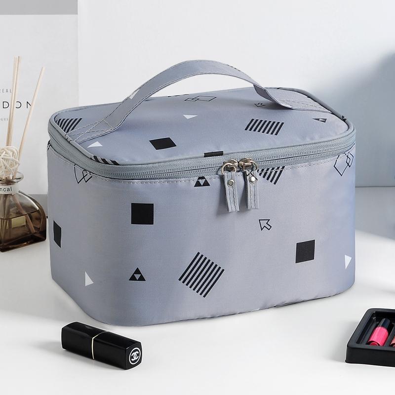 Ins wind super-fire make-up bag men and women large-capacity travel portable wash bag cosmetics waterproof storage bag box