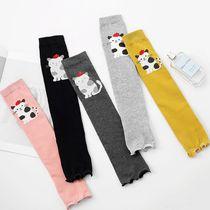 儿童袜套春秋空调房保暖卡通过膝长筒袜宝宝学步走路跳舞防摔护腿
