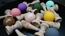 (solid color) 2018 Soul HUN Kendama matte anti-skid lacquer Sword Jade Sword ball Skill Ball