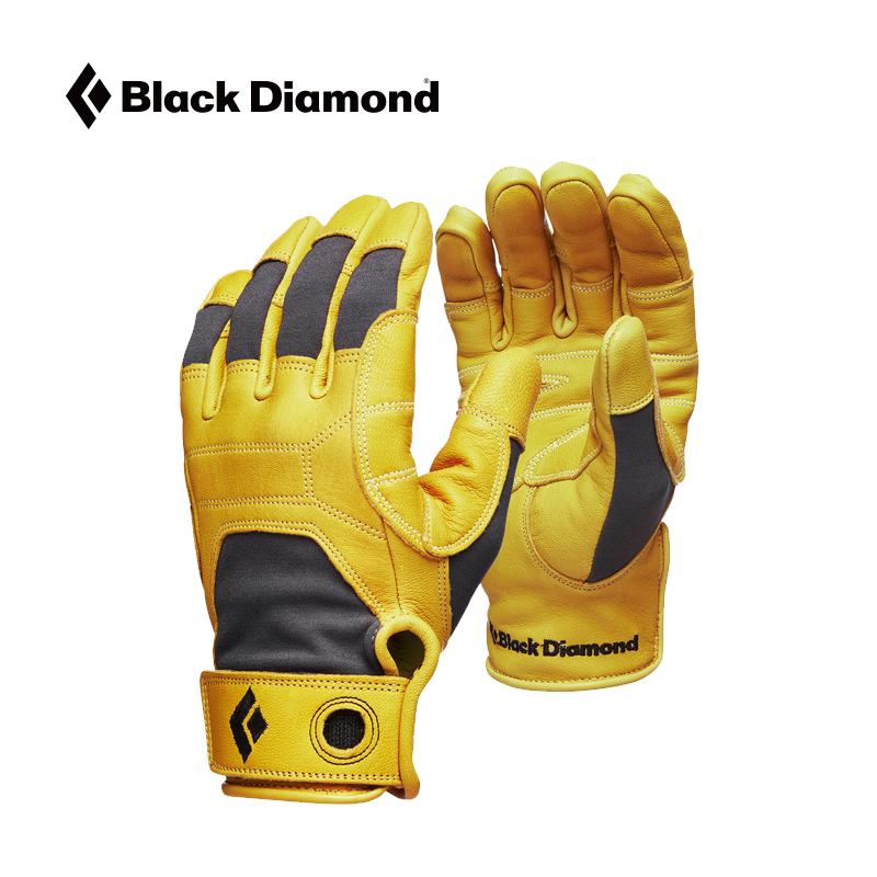 BD Black Diamond Transition Gloves Outdoor All Finger Climbing Climbing Leather Gloves 801849