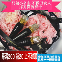 Genuine CL Lipstick spot Christian Louboutin radish ding Queen scepter lipstick black pipe Engraving