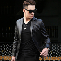 Korean version of the sheep skin genuine leather casual autumn style leather clothes