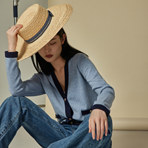 Old horse Marius (fragrant granny CH)10% cashmere wool cashmere B hoarding small incense knitted cardigan