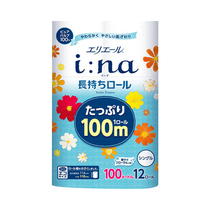 (direct) Japan King paper imported super-curly toilet paper reel paper single-layer 100m*12 roll