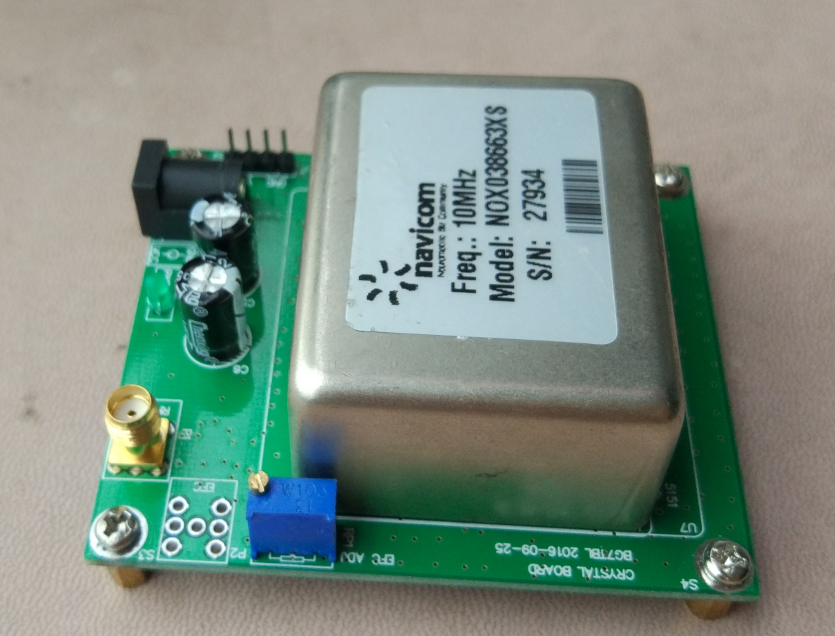 10MHz OCXO temperature crystal frequency reference reference board board circuit board