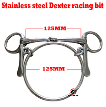 Classic stainless steel horse mouth title fine polishing horse chewing. Years of use without rust