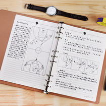 Kobe Basketball training tactics Ben B5 loose-leaf basketball class Notepad referee trainer Notebook peripheral Gifts