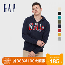 Gap mens and womens couples carbon soft-grinding velvet cotton T autumn 618866 2020 new coat