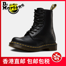 Dr. Martens Martin Boots Female British Wind 8 Holes Black Classic 1460 Couple Shoes Female Spring and Autumn Single Boots