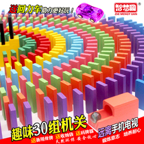 Domino 1000 Children Adult Competition Special Puzzle Intelligent Building Block system standard toys