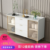 New side cabinet tea and wine cabinet living room cabinet modern simple kitchen cupboard storage cabinet microwave cabinet