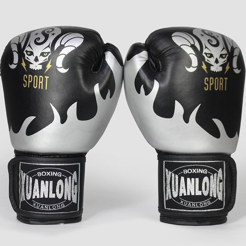 Gants de boxe pour adultes lutte Muay Thai sac de sable lâche sac de sable garçon de formation demi-doigt enfants hommes et femmes ensembles de boxe