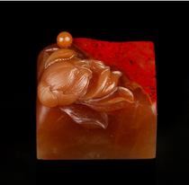 Chang Hui Bloodstone soft red robe carving custom
