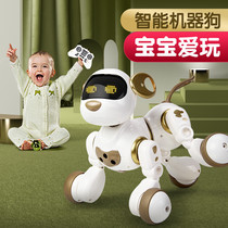 Smart machine dog remote control animal dialogue walking robot girl 2-3-5 years old children toy boy gift 4