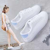 Joker street fashion Korean version of the White students in leather casual shoe