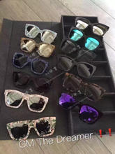 Korea purchasing Gentle Monster sunglasses, male V card, Tang Yan same GM Sunglasses female THE DREAMER