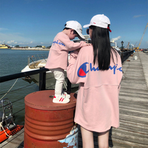 2020 spring and autumn net Red new parent-child wear three climbing service mother and child the whole family is not the same size loose sweater