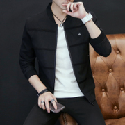 Men's coats fall 2017 new jacket young men s casual fashion slim handsome men and thin