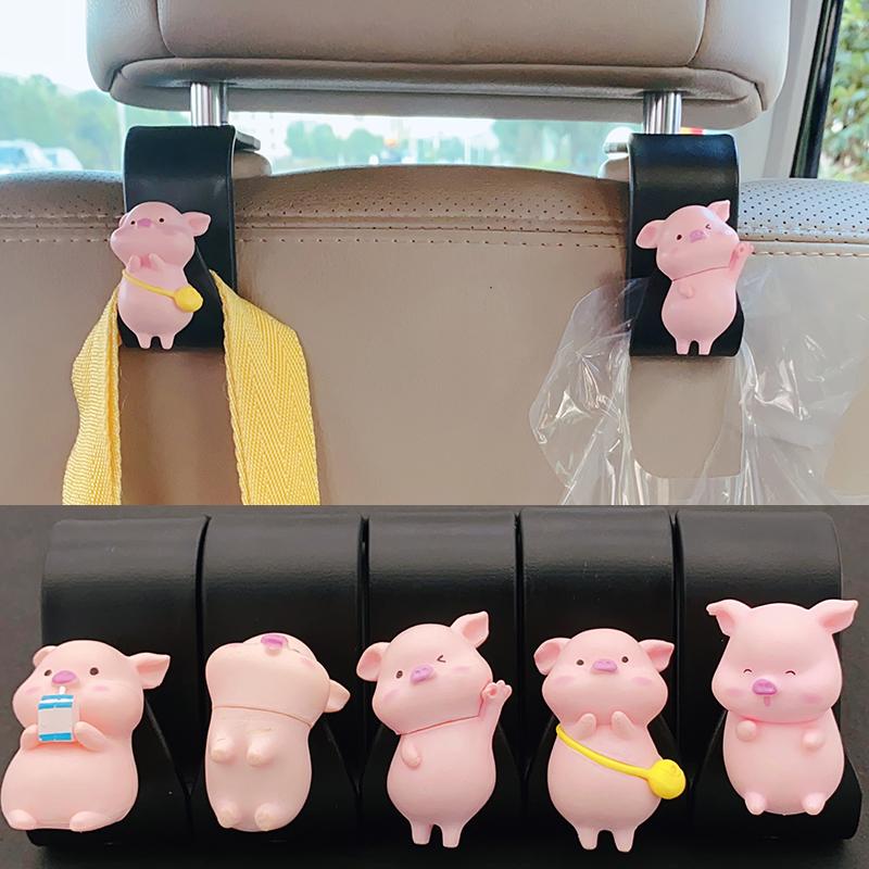 Передний и задний ряд автомобиля автомобиль автомобиль крюк спинка заднего сиденья автомобиля многофункциональный мультфильм интерьер поставки Daquan
