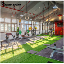 Gym Artificial lawn indoor fitness carpet artificial turf outdoor soccer stadium lawn 25mm