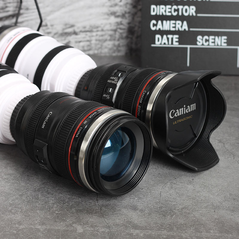 SLR lens water cup personality trend male portable blend coffee cup ins net red weird creative camera cup