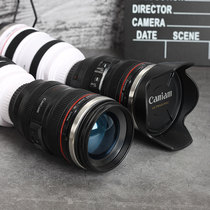 SLR lens water cup personality trend male portable blend coffee cup ins net red weird creative camera cup.
