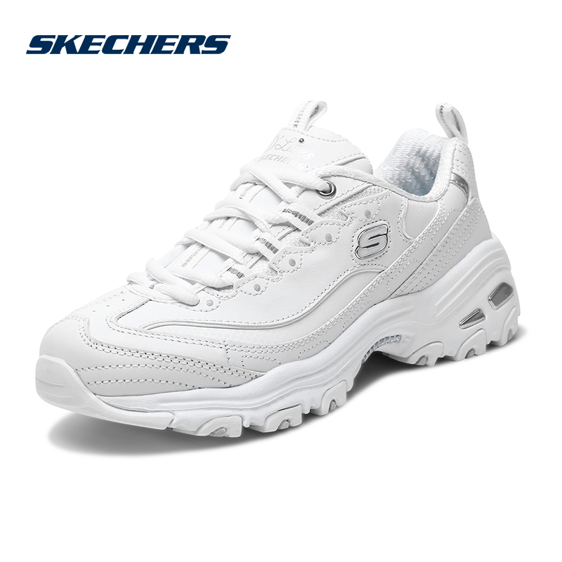 Skechers SKECHER Women's Shoes New D'lites Fashion Panda Shoes Thick-soled Sneakers 11931