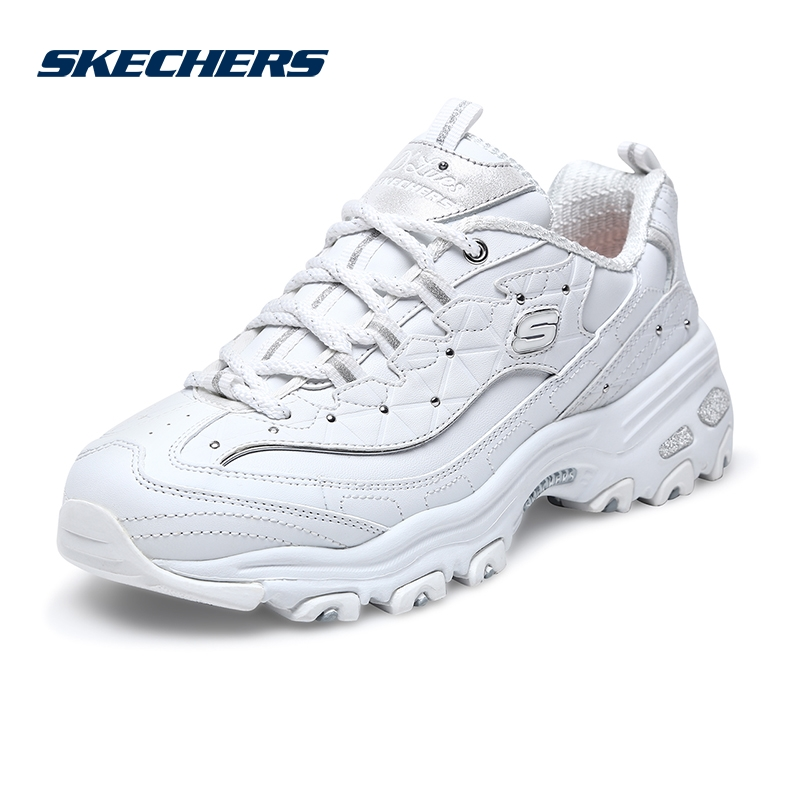 Skechers Skechers Sketches women's shoes D&39; lites retro thick-soled muffin shoes, casual panda shoes, daddy shoes 13087
