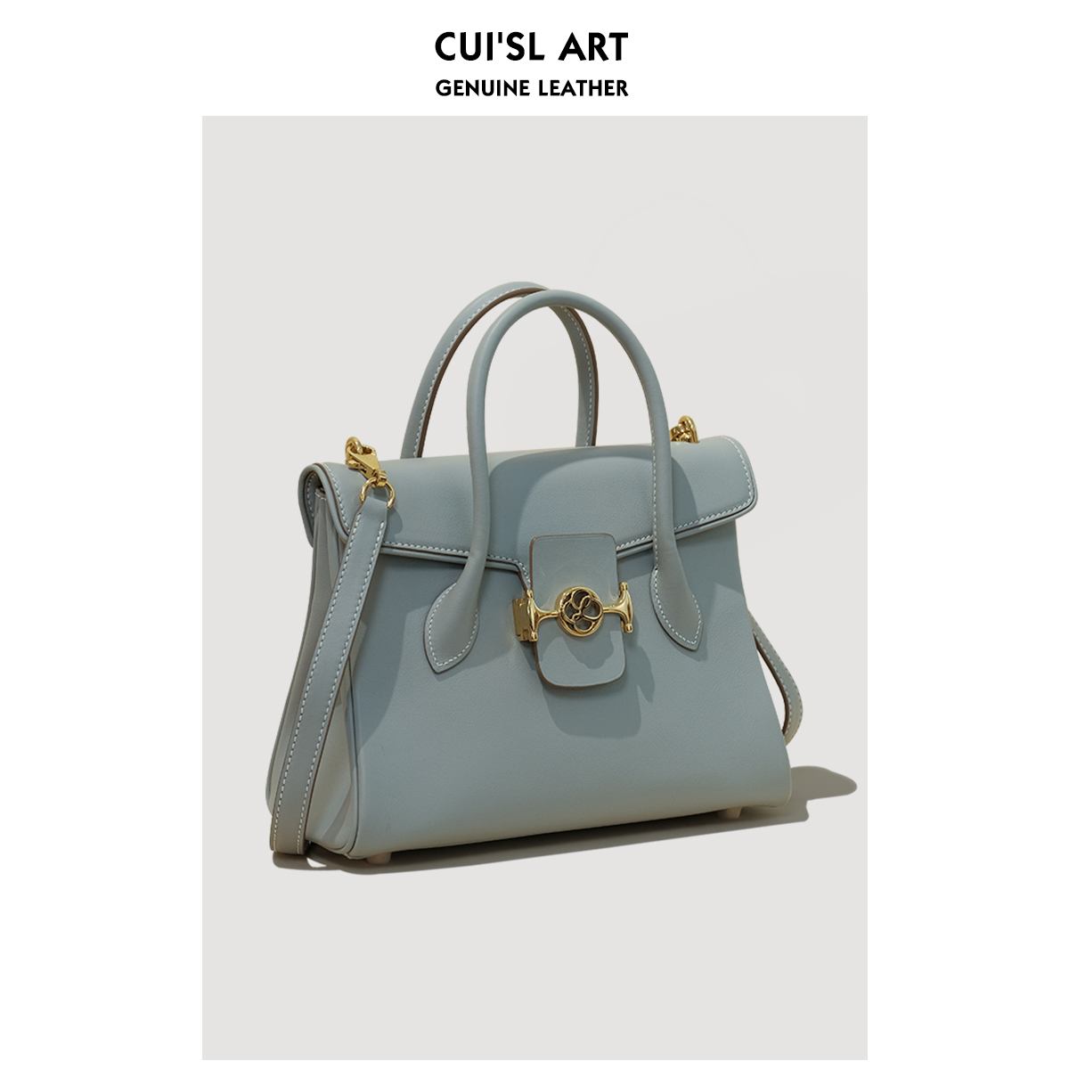 CUISL Cuis leather 25 designer new 2020 autumn winter luxury imported cowhy handbag
