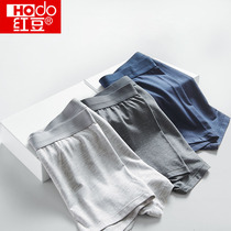 Red bean underwear mens modal large cotton crotch antibacterial breathable four-point shorts mens boxer shorts