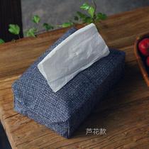 Simple handmade cotton Tubu paper towel sleeve cloth paper towel bag paper bag car pumping carton paper towel bag towel box