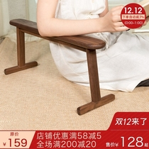 Classical tatami and room chair Chinese floating window Backrest chair traditional solid wood with a few beds on the lazy chair to help the handle