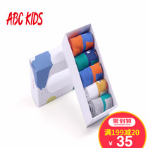 ABCKids fall winter 3-10 in the spring and autumn big boys socks