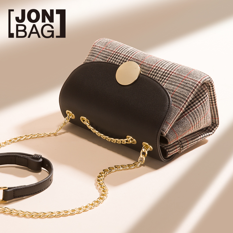 Ins Work Bag Autumn and Winter Female 2019 New Chain Fashion Small Fresh Baitie One Shoulder Slant Bag