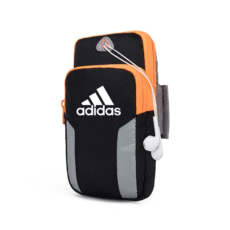 [The goods stop production and no stock]Adidas/Adidas Mobile Arm Wrist Cover Sports Outdoor Fitness Running Equipment Apple Huawei