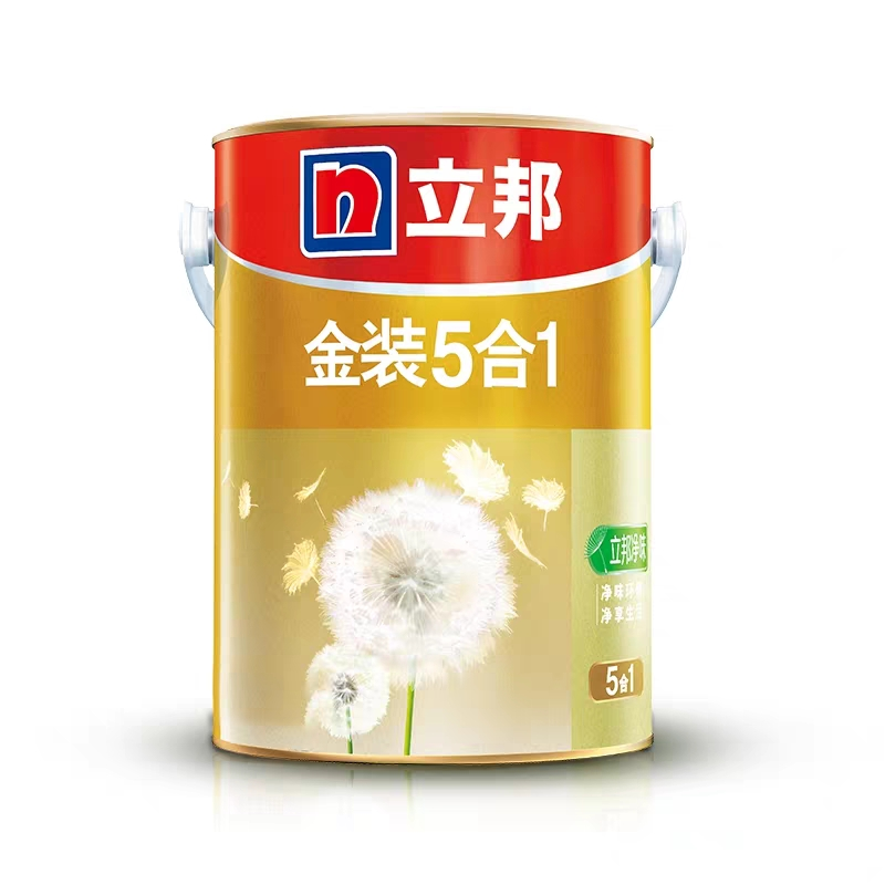 Libang latex paint gold loaded with a clean taste of five-in-one inner wall latex paint