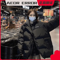 ADER ERROR thick cotton clothes male loose couples Net red collar zipper sports coat women tide