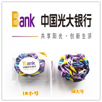 China Everbright Bank exclusive staff counter executive brooch size Number 3 specifications Bank financial brooch