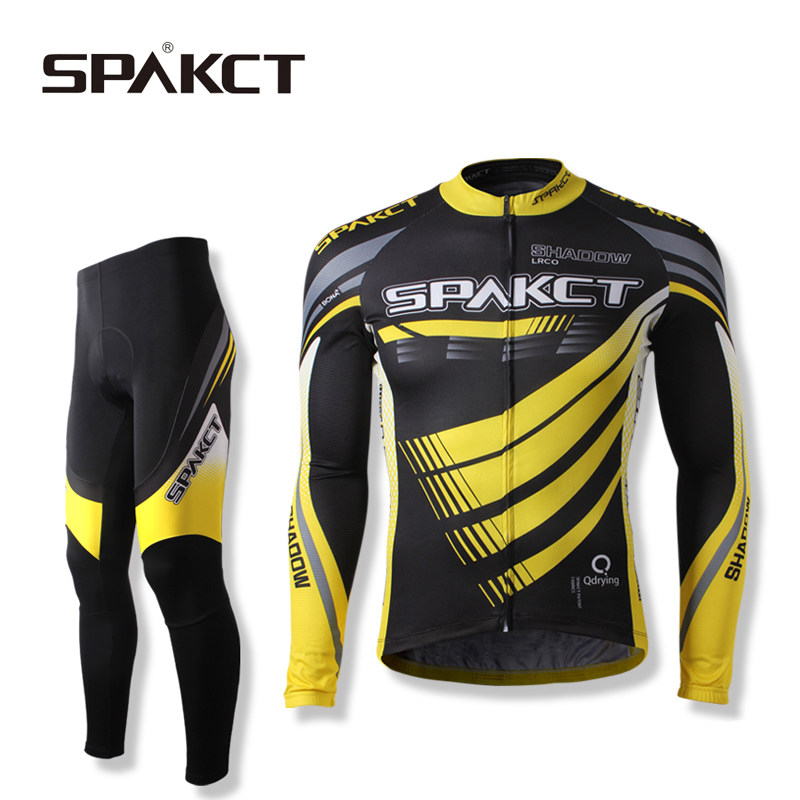 SPAKCT Spark Phantom Lightning Men and Women Spring and Summer Short-sleeved Cycling Suit Autumn and Winter Long-sleeved Bicycle Equipment