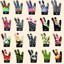 Authentic Longoni billiards gloves constellation Italy LONGONI three finger leakage hand high-grade rod exposed finger