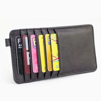 卡包多卡位 银行卡夹卡套男士女士情侣钱包牛皮大容量韩版超薄