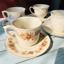 Foreign trade exports Royal Dalton ceramic coffee cup set glazed under the color of Western-style household coffee tea sets