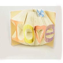 Birthday Table 1 Creative Gift Valentine's Day Gives him Different Handmade DIY Diary Book Origami Lov Love