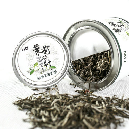 [The goods stop production and no stock]Bai Yun 2017 Jasmine Tea Super Rich Fujian Junhe Jasmine Silver Tea