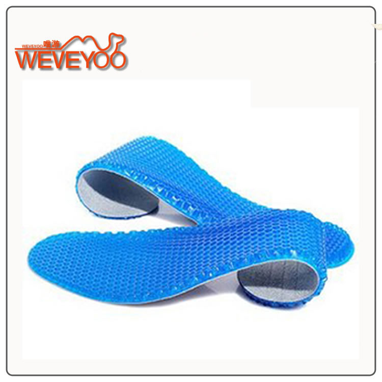Only swimming honeycomb insole silicone insole high elastic sports insole cushioning comfort