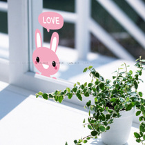 Lanrico Remove wall Sticker rabbit cartoon Notebook tile glass sticker switch sticker computer sticker painting