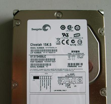 Seagate ST373455LC Seagate 73G 15K SCSI Server Hard Drive Three years replacement
