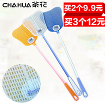 Camellia Plastic fly Pat 1705 plastic handle fly Pat Flytrap kill Swatter catcher Summer beat fly device